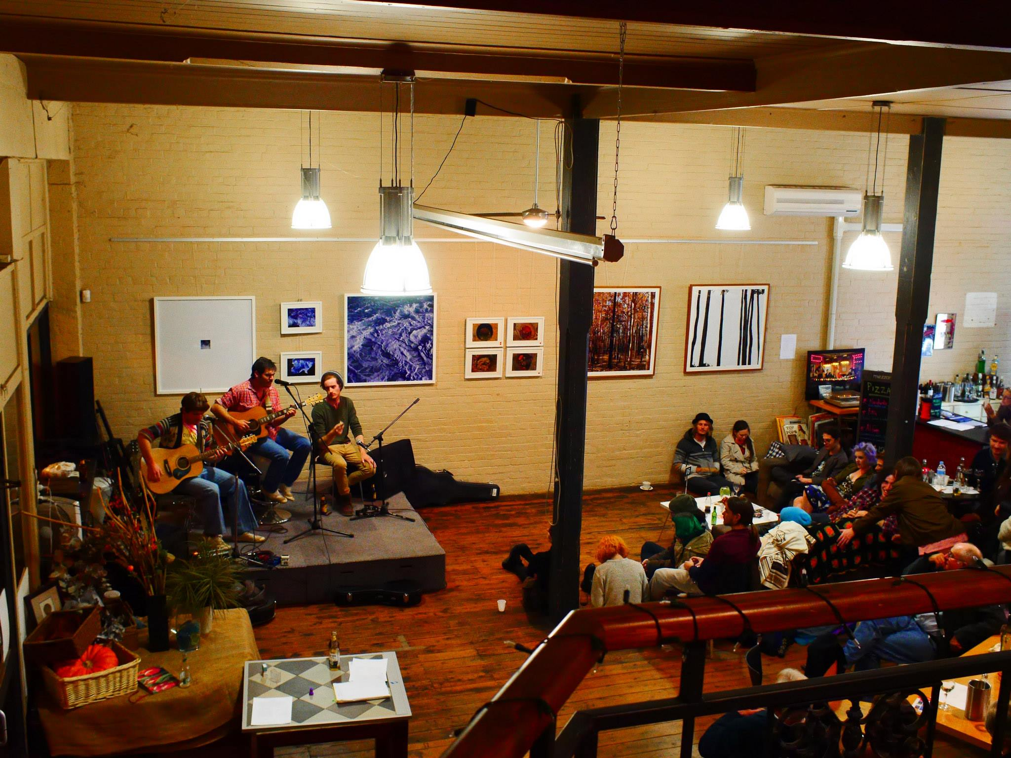 Music at Mezzanine Cafe Forbes